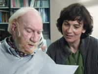 Fernando Fernán-Gómez con la directora Patricia Ferreira