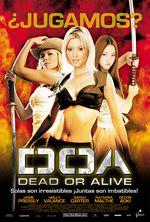 DOA dead or alive Película estreno