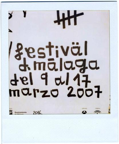 Cartel X festival de málaga