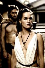 La sensual Lena Headey es la mujer de Leónida