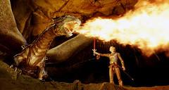 Eragon con su dragón