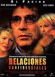 Relaciones confidenciales cartel película