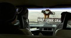 El trío llega a  Wolf Creek