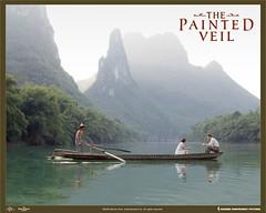 El velo pintado escena