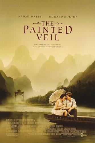 El velo pintado cartel película