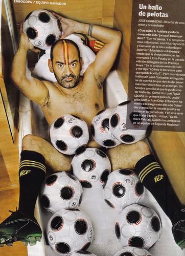 José Corbacho con la selección Española