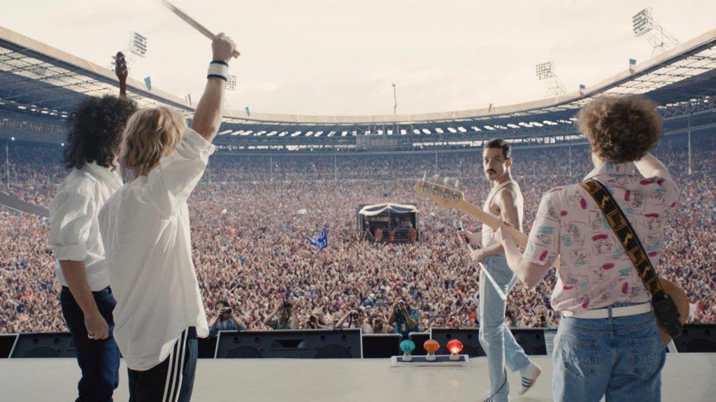 Bohemian Rhapsody concierto Wmbley