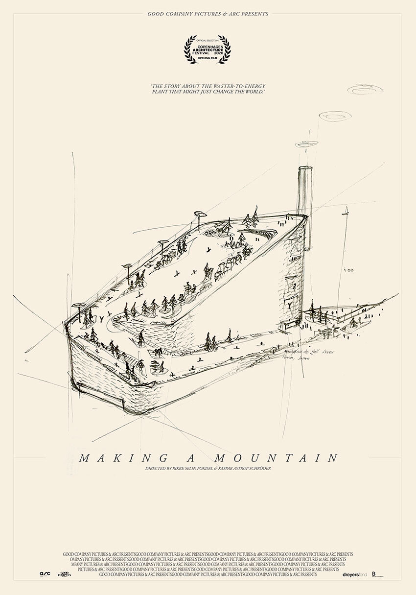 Making a mountain