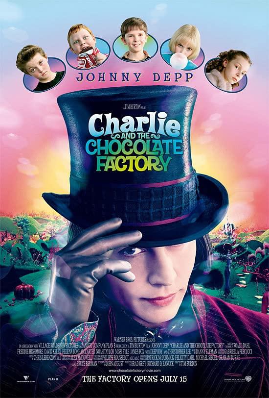 Charlie y la fábrica de chocolate de Tim Burton